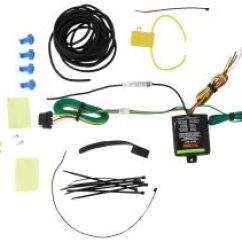 Trailer Connector 2 Way Switch Wiring Diagram Home Connectors Etrailer Com Curt Powered Tail Light Converter With 4 Pole Flat