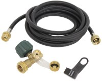 Camco 90-Degree Brass Propane Tee w/ 3 Ports and 12' Long ...