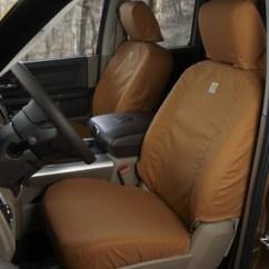 Motorhome Captain Chair Seat Covers Ergonomic Checklist Covercraft Carhartt Seatsaver Custom Front Brown Ssc2412cabn