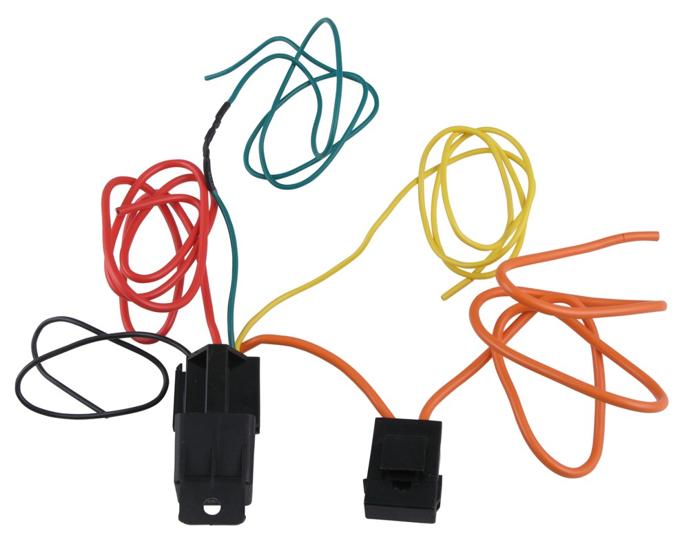 4 prong wire harness winch