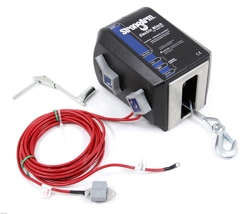 hight resolution of dutton lainson strongarm electric winch 3 000 lbs dutton lainson trailer winch dl24870