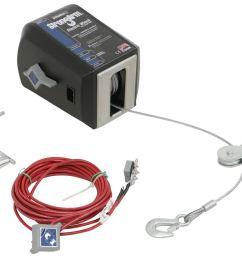 dutton lainson strongarm electric winch w pulley block 3 000 lbs dutton lainson trailer winch dl24874 [ 1000 x 821 Pixel ]