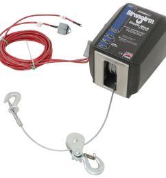 dutton lainson strongarm electric winch w pulley block 3 000 lbs dutton lainson trailer winch dl24874 [ 1000 x 970 Pixel ]