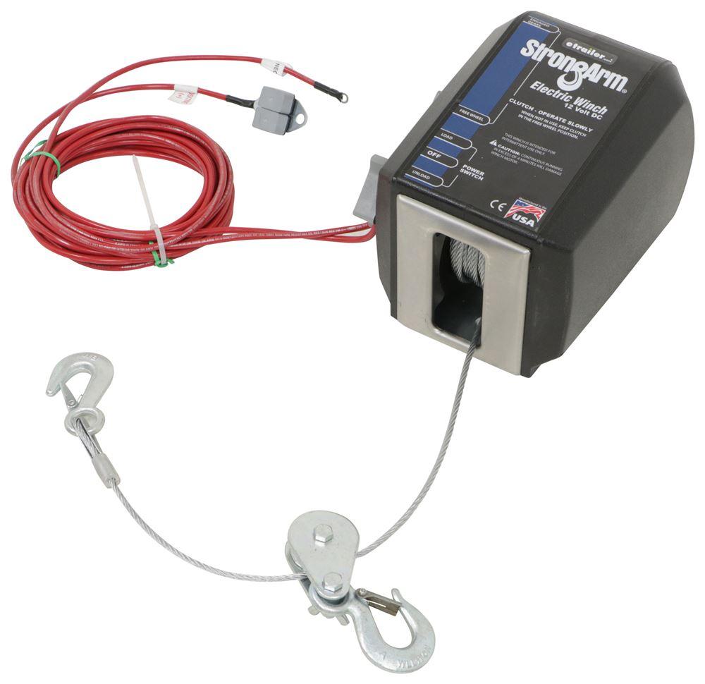 medium resolution of dutton lainson strongarm electric winch w pulley block 3 000 lbs dutton lainson trailer winch dl24874