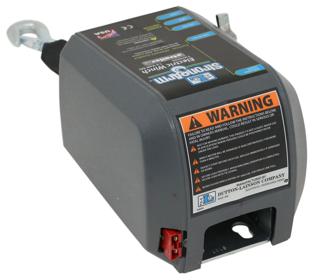 medium resolution of dutton lainson strongarm electric winch marine 9 000 lbs dutton lainson trailer winch dl25215