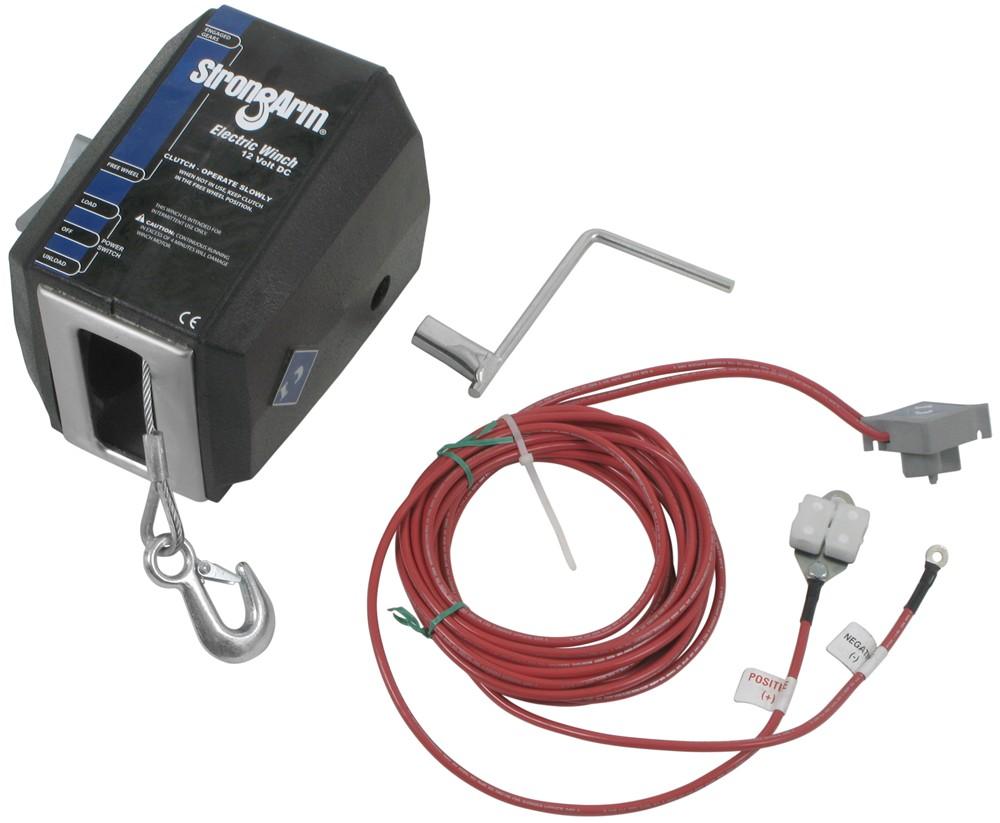 hight resolution of dutton lainson strongarm electric winch 1 500 lbs dutton lainson trailer winch dl25500