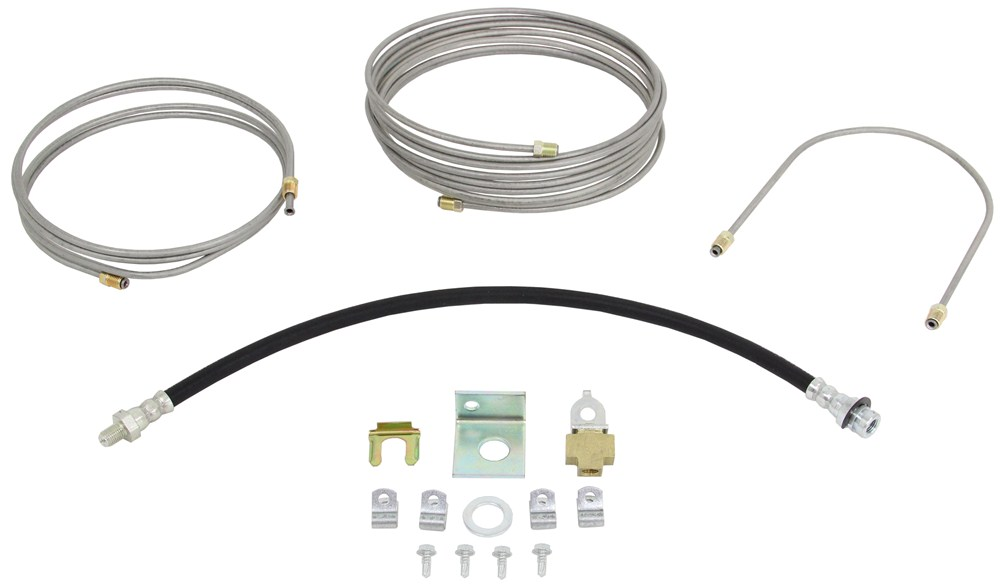 Demco Hydraulic Brake Line Kit for Single Axle Trailers