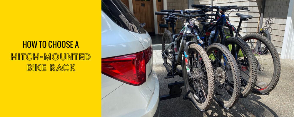 how to choose a hitch mounted bike rack