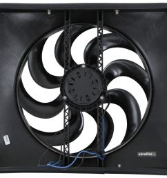 flex a lite 15 black magic xtreme electric radiator fan with shroud thermostat controller flex a lite radiator fans flx180 [ 1000 x 810 Pixel ]