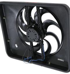flex a lite 15 black magic xtreme electric radiator fan with shroud thermostat controller flex a lite radiator fans flx180 [ 1000 x 953 Pixel ]