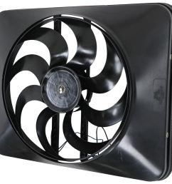 flex a lite 15 black magic xtreme electric radiator fan with shroud thermostat controller flex a lite radiator fans flx180 [ 1000 x 958 Pixel ]