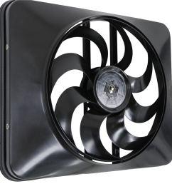 flex a lite 15 black magic xtreme electric radiator fan with shroud thermostat controller flex a lite radiator fans flx180 [ 988 x 1000 Pixel ]