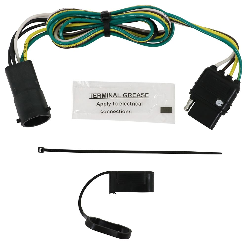 hight resolution of hm11140905 4 flat hopkins trailer hitch wiring