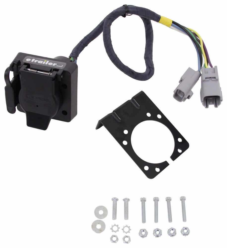 hight resolution of hopkins plug in simple vehicle wiring harness for factory tow package 7 way