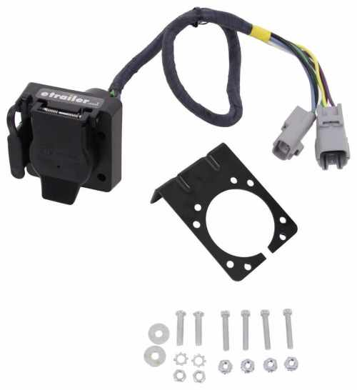 small resolution of hopkins plug in simple vehicle wiring harness for factory tow package 7 way