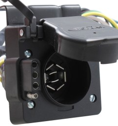 hopkins plug in simple vehicle wiring harness for factory tow package 7 way and 4 flat connectors hopkins custom fit vehicle wiring hm11143395 [ 1000 x 821 Pixel ]