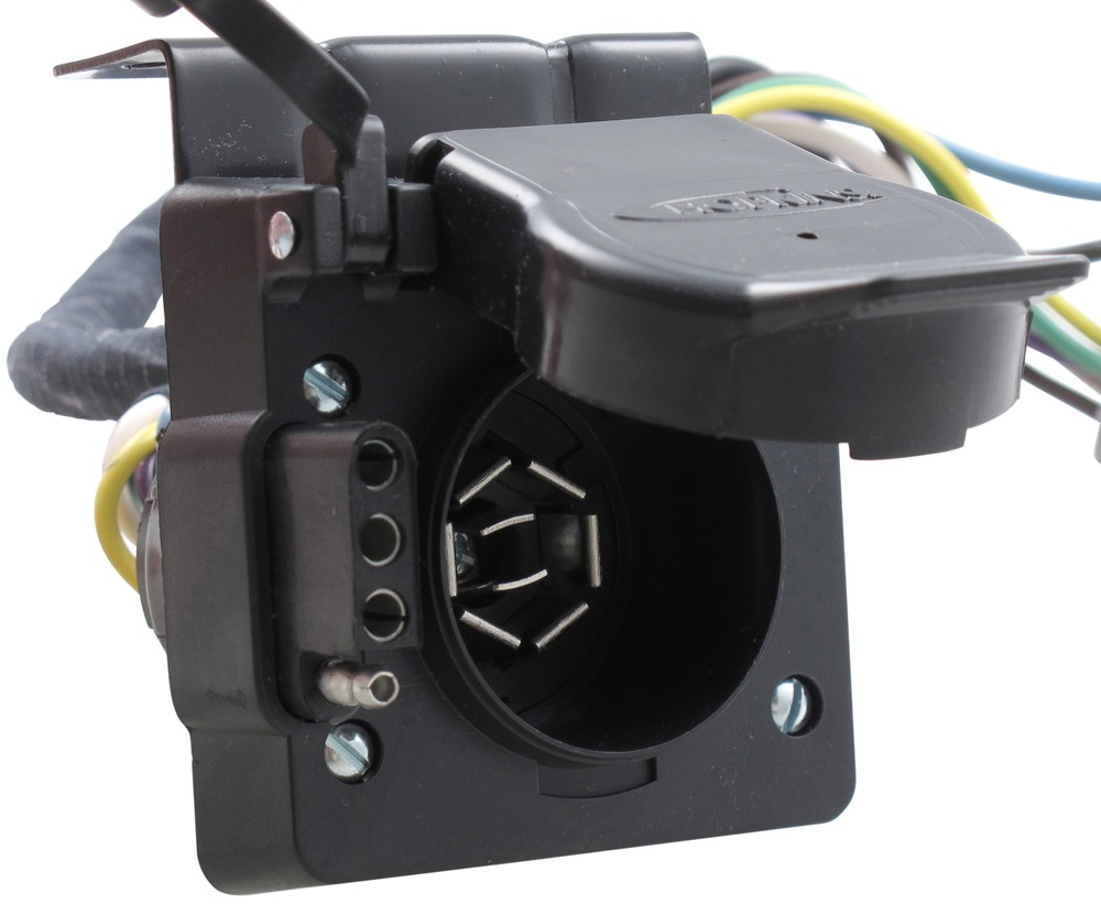 hight resolution of hopkins plug in simple vehicle wiring harness for factory tow package 7 way and 4 flat connectors hopkins custom fit vehicle wiring hm11143395