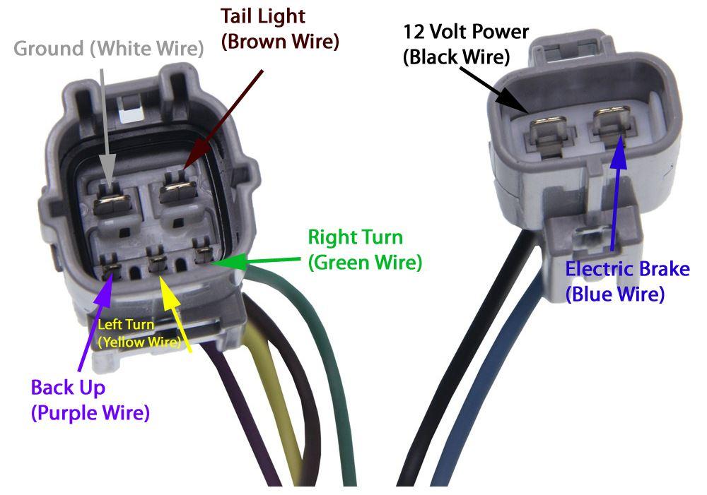Wiring Diagram 7 Pin Trailer Plug Toyota