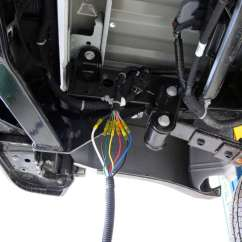 Hopkins 7 Blade Wiring Diagram 2005 Honda Pilot Fuse Box 7-pole And 4-pole Trailer Connector Sockets W/ Mounting Bracket - Vehicle End ...