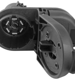 7 and 4 pole trailer connector socket w mounting bracket vehicle end hopkins custom fit vehicle wiring hm40975 [ 1000 x 828 Pixel ]