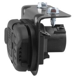 7 and 4 pole trailer connector socket w mounting bracket vehicle end hopkins custom fit vehicle wiring hm40975 [ 1000 x 852 Pixel ]