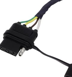 hopkins plug in simple vehicle wiring harness with 4 pole flat trailer connector hopkins custom fit vehicle wiring hm42635 [ 1000 x 980 Pixel ]