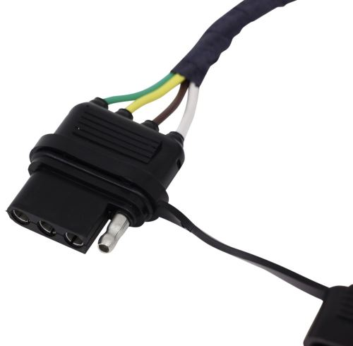 small resolution of hopkins plug in simple vehicle wiring harness with 4 pole flat trailer connector hopkins custom fit vehicle wiring hm42635