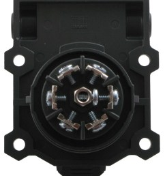 hopkins endurance 7 way trailer connector socket vehicle end ergonomic design hopkins wiring hm48480 [ 848 x 1000 Pixel ]