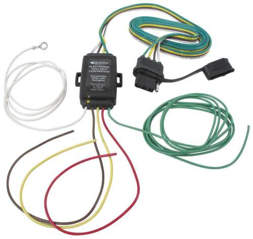 small resolution of hopkins tail light converter kit with 4 way flat connector led compatible hopkins wiring hm48895
