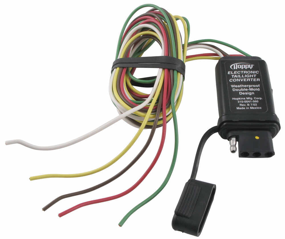medium resolution of hopkins vehicle wiring converter with 4 pole end hopkins wiring hm48915 hopkins tail light converter wiring diagram