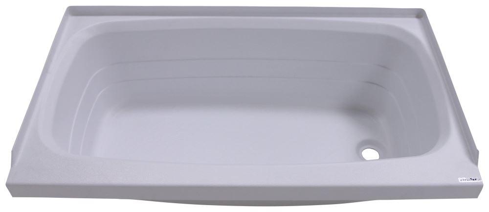 Better Bath 24 x 40 RV Bath Tub  Right Drain  White