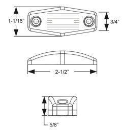 trailer lights mcl99a1b surface mount optronics [ 985 x 1000 Pixel ]