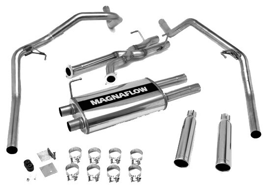 2007 Toyota Tundra MagnaFlow Stainless Steel Cat-Back