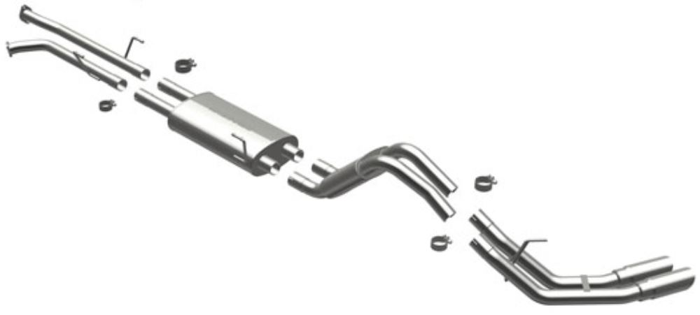 2008 Toyota Tundra MagnaFlow Stainless Steel Cat-Back