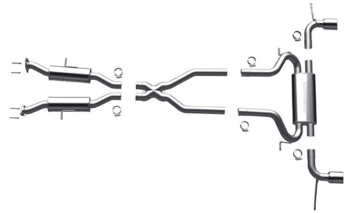 2012 Jeep Grand Cherokee MagnaFlow Cat-Back Exhaust System