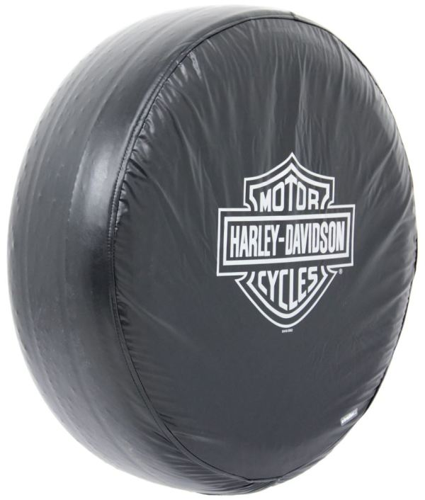 Harley-davidson Spare Tire Cover - Water Resistant 27