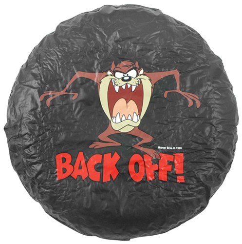Tasmanian Devil Back Off Spare Tire Cover  Water