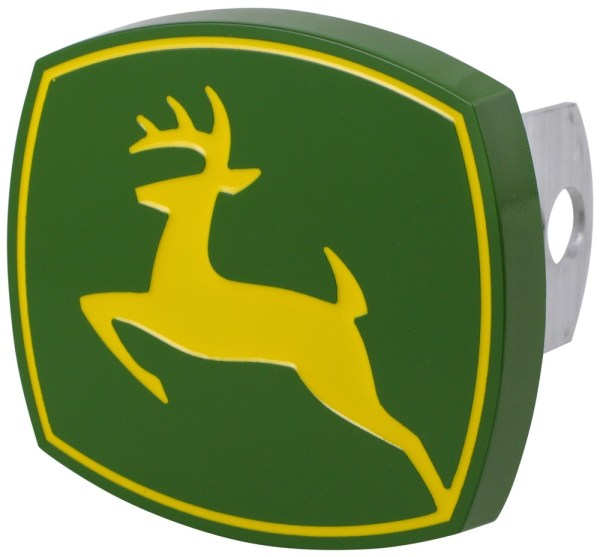 John Deere Trailer Hitch Receiver Cover - 1-1 4