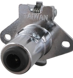 pollak 5 pole round pin trailer wiring socket concealed terminals pollak 5 pole round pin trailer wiring connector chrome trailer end 17 [ 1000 x 961 Pixel ]