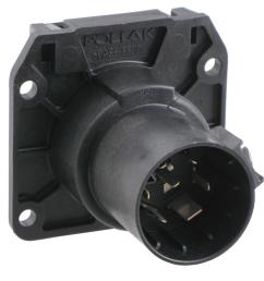 pollak replacement 7 pole rv style trailer connector socket vehicle end pollak wiring pk11893 [ 975 x 1000 Pixel ]