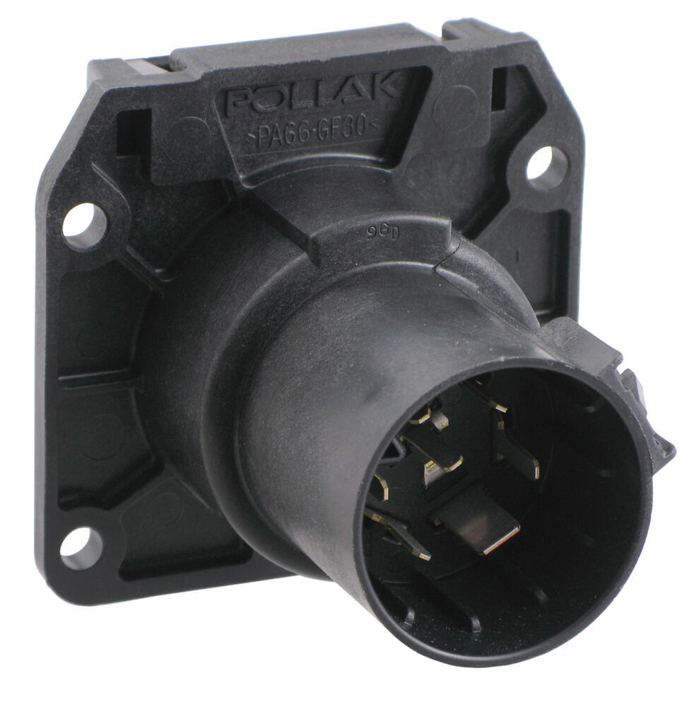medium resolution of pollak replacement 7 pole rv style trailer connector socket vehicle end pollak wiring pk11893