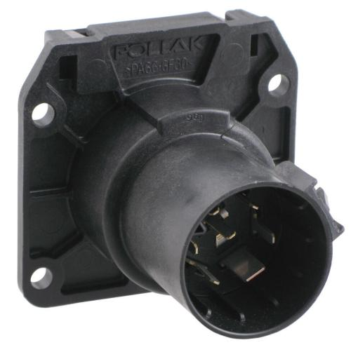 small resolution of pollak replacement 7 pole rv style trailer connector socket vehicle end pollak wiring pk11893