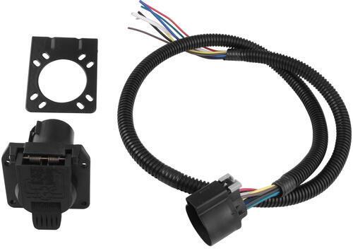 2013 Nissan Frontier Trailer Wiring Pollak 7 Pole Rv Style Trailer Connector Socket W Wiring