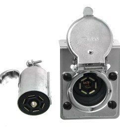 pollak rv 7 blade plug end socket w mounting bracket pollak wiring pk12 704 [ 1000 x 949 Pixel ]