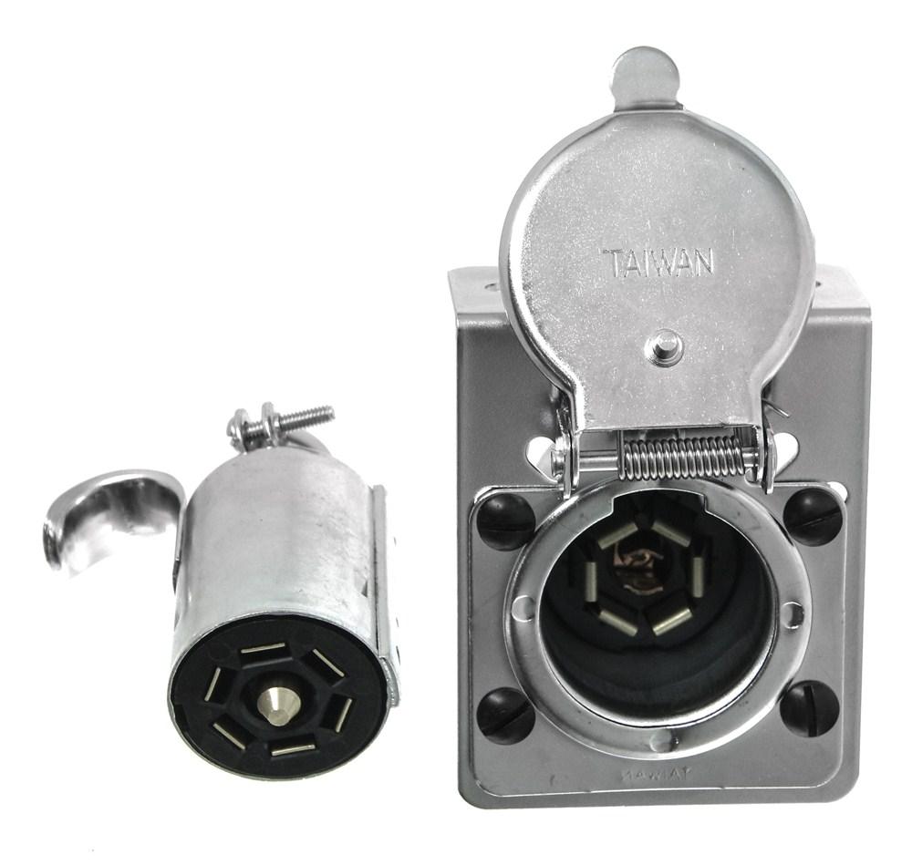 medium resolution of pollak rv 7 blade plug end socket w mounting bracket pollak wiring pk12 704