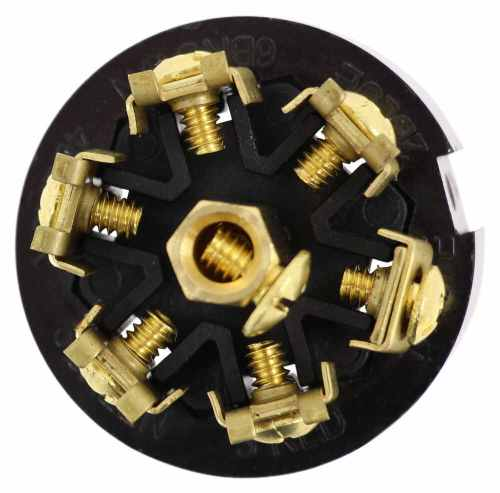 small resolution of pollak black plastic 7 pole rv style trailer connector trailer end pollak wiring pk12706