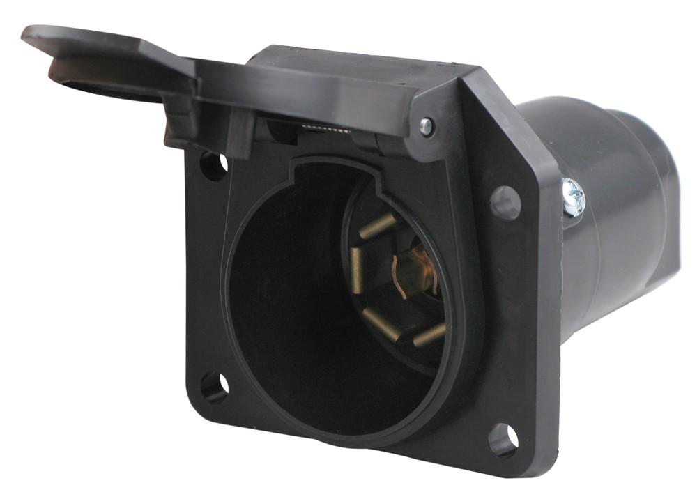 Wire 4 Pin Trailer Wiring Diagram Moreover 7 Blade Trailer Plug Wiring