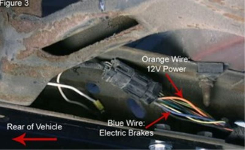 Trailer Wiring Diagrams Where To Find The Orange 12 Volt Power Wire For Wiring A 7