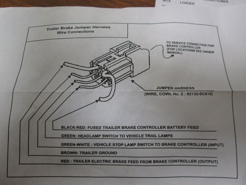 Toyota 4runner Wiring Diagram On Toyota Tacoma Trailer Wire Harness