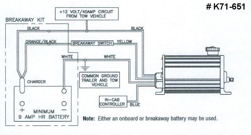 Trailer Breakaway Wiring Schematic Compatibility Of Dexter Eoh Brake Actuator K71 651 With